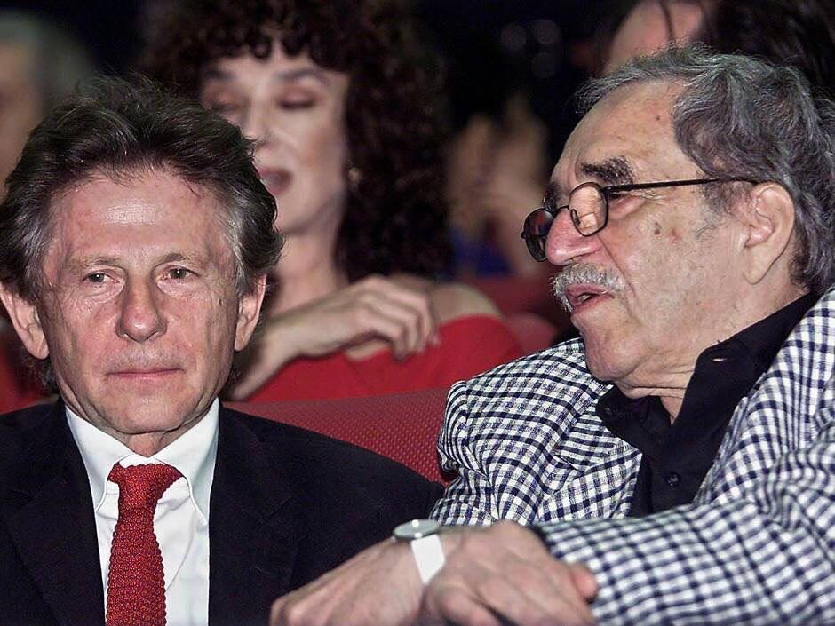 , تصویری از گابریل گارسیا مارکز و رومن پولانسکی در فستیوال بینالمللی فیلم کوبا – هاوانا در دسامبر 2002, اخبار هنری, اخبار هنری